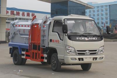 福田3360挂桶垃圾车